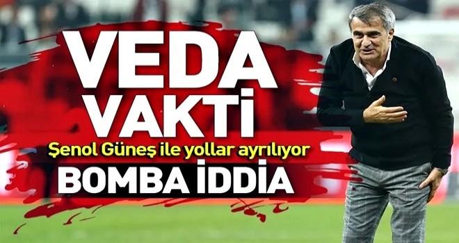 Beşiktaş'ta Şenol Güneş depremi! Yollar ayrılıyor
