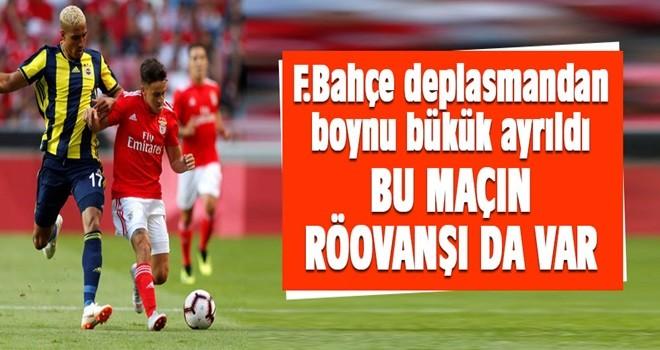 Benfica'ya 1 avans!