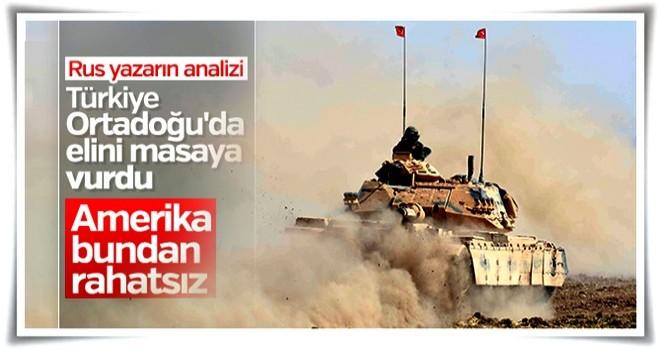 Rus yazar ABD-Türkiye gerilimini değerlendirdi