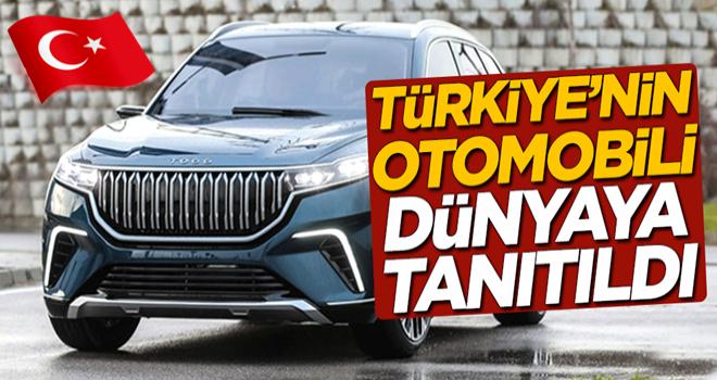 Türkiye'nin otomobili dünyaya tanıtıldı