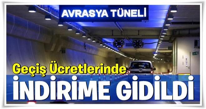 Avrasya Tüneli geçişinde indirime gidildi! .