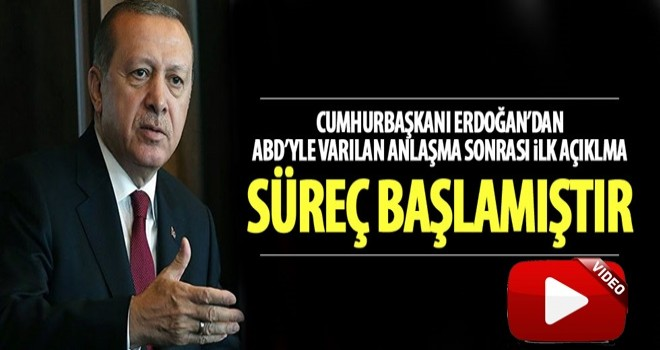 Cumhurbaşkanı Erdoğan güvenli bölgeyle ilgili konuştu