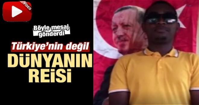 Gineli gençlerden Cumhurbaşkanı Erdoğan'a destek
