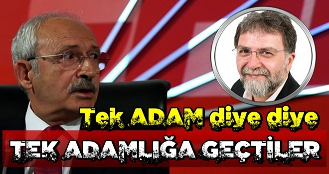 Ahmet Hakan'dan sert açıklamalar: Tek adam diye diye…