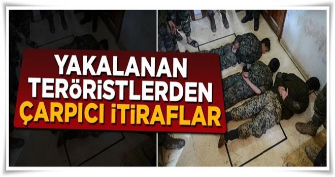 Burseya Dağı'nda yakalanan teröristlerden çarpıcı itiraflar