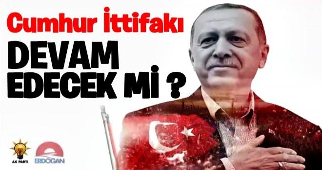 Cumhur İttifakı devam edecek mi? Erdoğan açıkladı