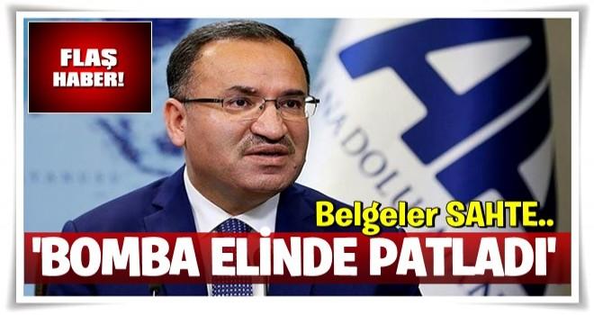 Kılıçdaroğlu'nun iftiralarına hükümetten yanıt: Bomba elinde patladı