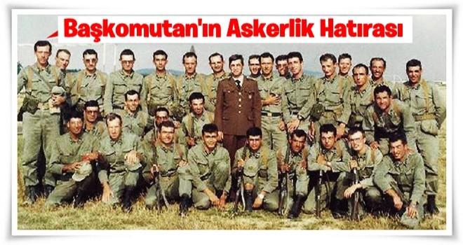 Cumhurbaşkanı Erdoğan'ın askerlik hatırası