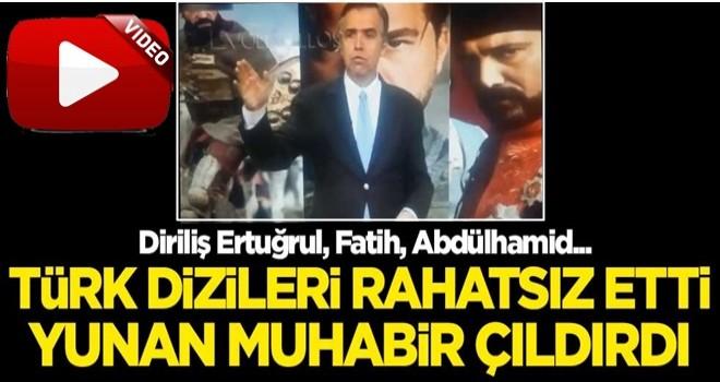 Türk dizileri Yunan muhabiri çıldırttı