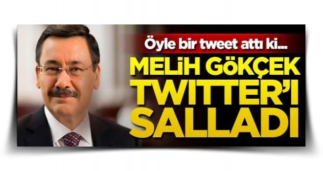 Melih Gökçek tweet attı, sosyal medya yıkıldı! 'AK Parti ve MHP...'