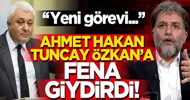 Ahmet Hakan'dan Tuncay Özkan'a sert tepki!