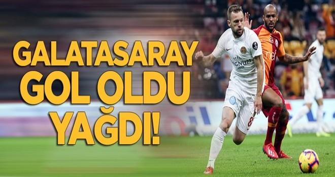 Galatasaray gol oldu yağdı!