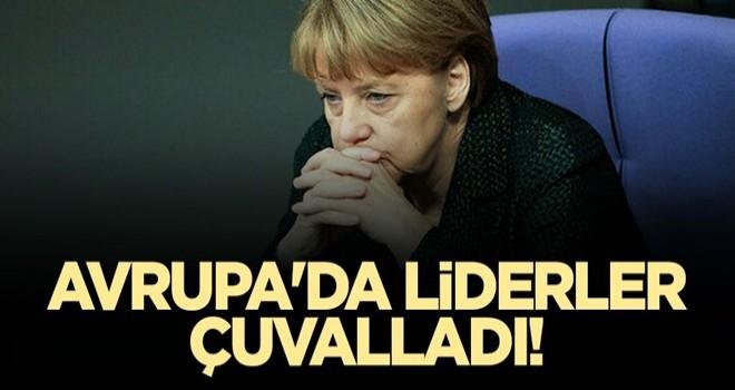 Avrupa'da liderler çuvalladı!