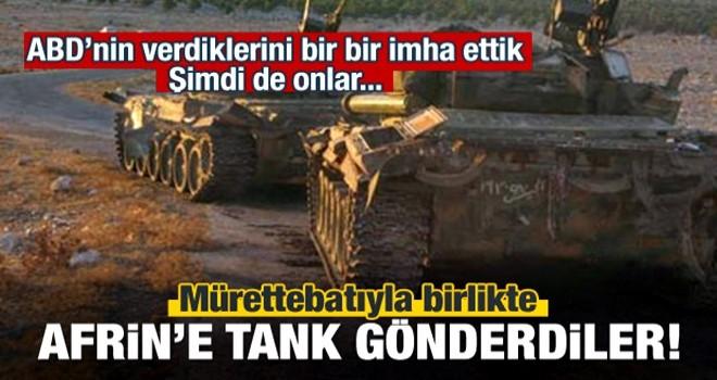 Tehlikeli iddia: Afrin'e tank gönderdiler