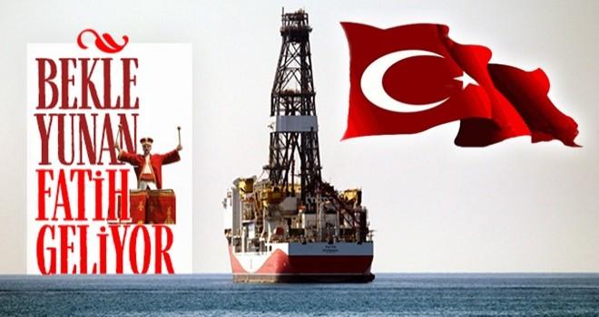 Sondaj gemisi 'Fatih' Antalya'ya demir attı