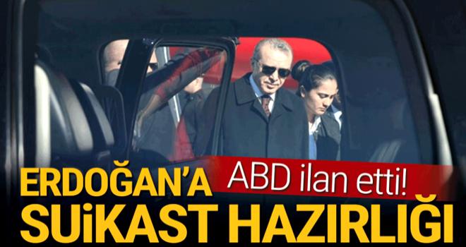 Cumhurbaşkanı Erdoğan'a suikast hazırlığı