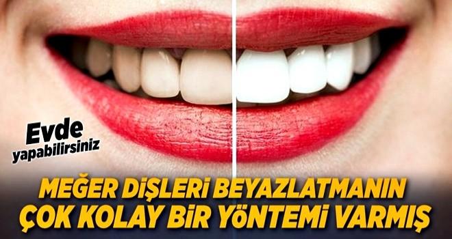 Bembeyaz dişler için çilekle dişlerinizi fırçalayın! Nasıl mı? .