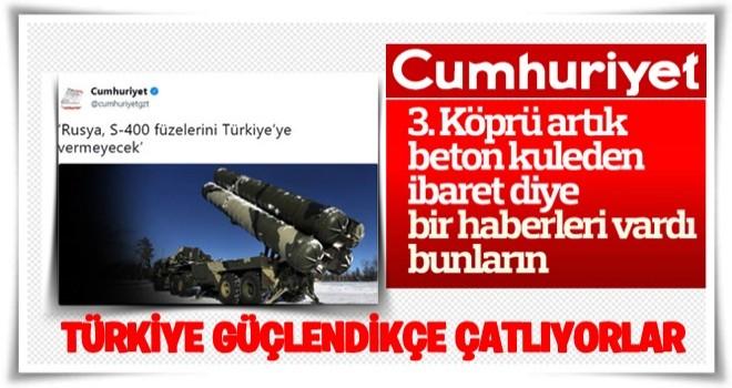 Türkiye'nin S-400 alımı Cumhuriyet'i gerdi