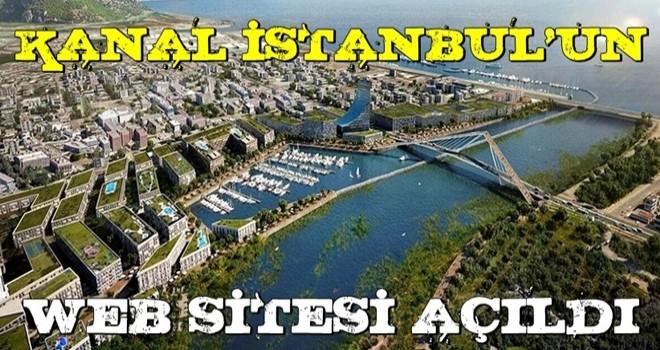 Kanal İstanbul'un resmi internet sitesi açıldı!
