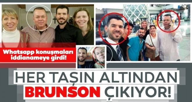 Kobani eylemlerinde Brunson izi