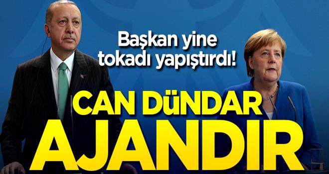 Cumhurbaşkanı Erdoğan ile Merkel'den Can Dündar sorusuna yanıt