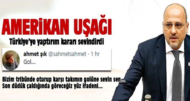 Ahmet Şık'tan küstah tweet