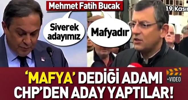 CHP 2 ay önce 'mafya' dediği Mehmet Fatih Bucak'ı Siverek'ten aday gösterdi