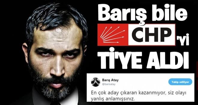 Barış Atay, CHP'yi ti'ye aldı