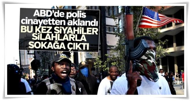 Polisin siyahi cinayetten aklanması ABD'yi karıştırdı