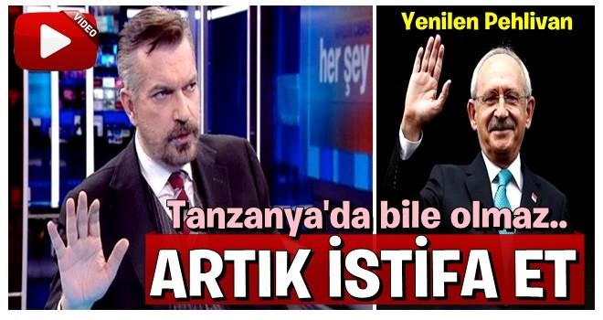 Hakan Bayrakçı BİLE  Kemal'e isyan etti : İstifa et !