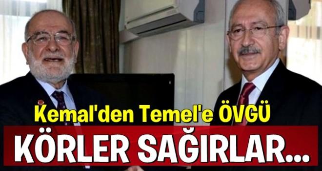 Kılıçdaroğlu'ndan Karamollaoğlu'na övgü!