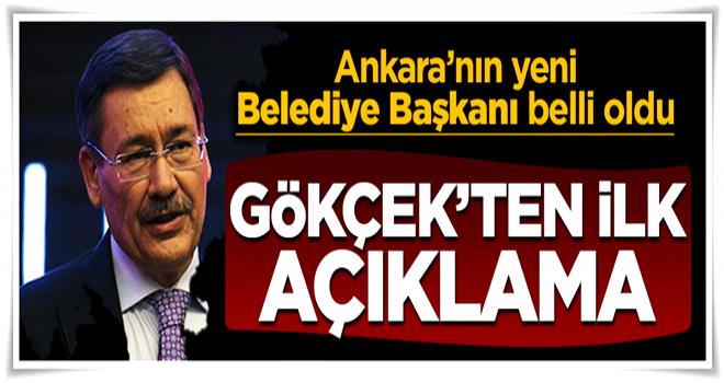 Melih Gökçek, Mustafa Tuna'yı tebrik etti