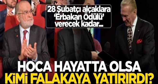 Erbakan Hoca hayatta olsa kimi falakaya yatırırdı?