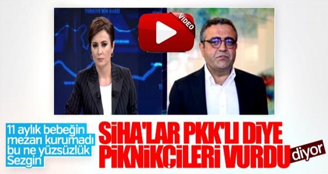 CHP'li Sezgin Tanrıkulu'nun SİHA yalanı