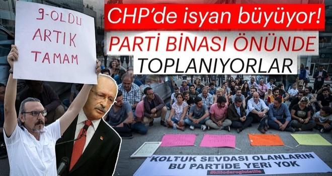 CHP'liler kazan kaldırdı