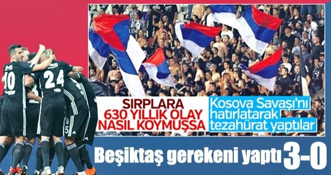 Beşiktaş Avrupa Ligi'nde gruplara kaldı