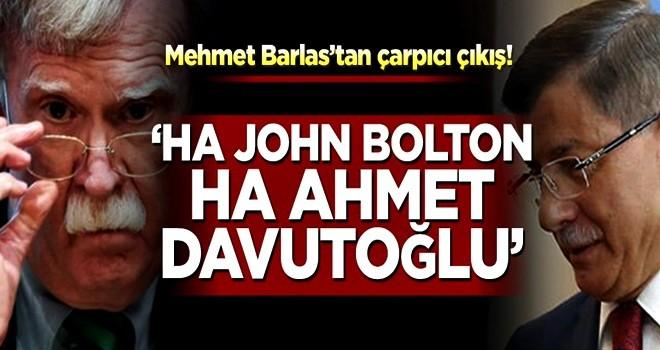 Mehmet Barlas'tan çarpıcı çıkış!