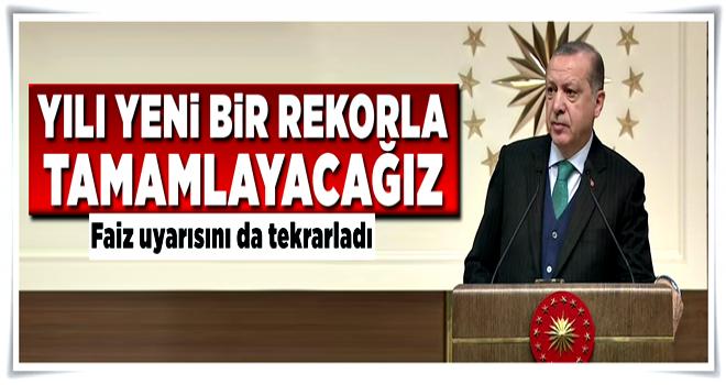 Erdoğan'dan kritik büyüme tahmini açıklaması .
