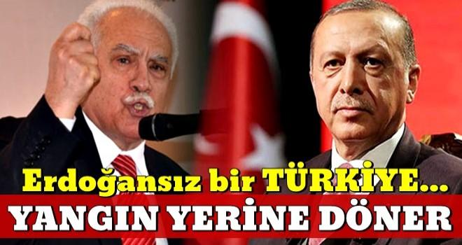 Doğu Perinçek'ten dikkat çeken çıkış: Erdoğan'sız bir hükümet...