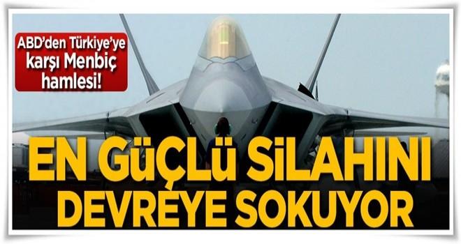 ABD Türkiye'ye karşı en güçlü silahını devreye sokuyor