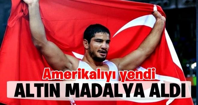 47. Uluslararası Yaşar Doğu Turnuvası'nda Taha Akgül'den altın madalya .