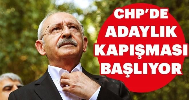 CHP'de adaylık kapışması başlıyor