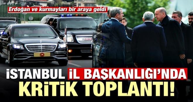 Son dakika: Başkan Erdoğan'dan önemli toplantı .