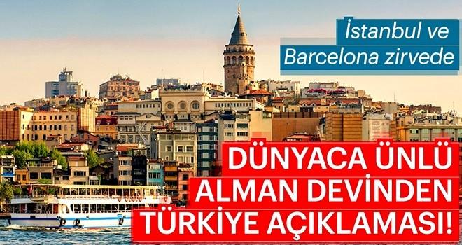 Dünyaca ünlü Alman devinden Türkiye açıklaması!
