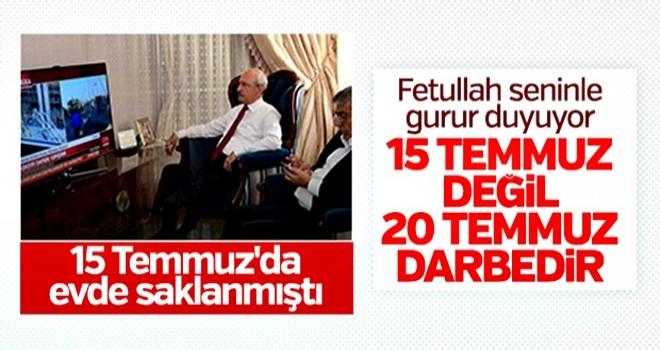 Kılıçdaroğlu '20 Temmuz darbesi' deyince tartışma çıktı
