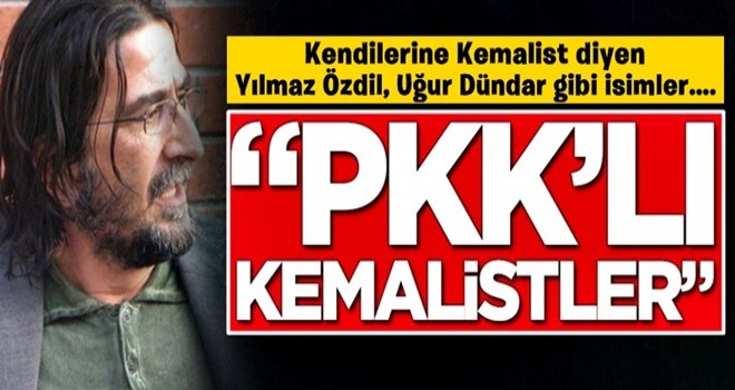 Nihat Genç'ten olay sözler! 'PKK'lı Kemalistler'