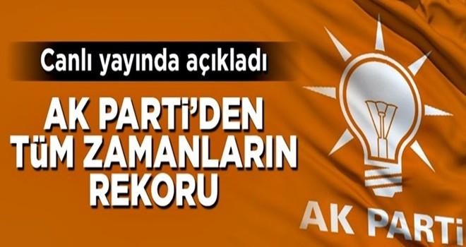 AK Parti aday adayı sayısında tüm zamanların rekorunu kırdı