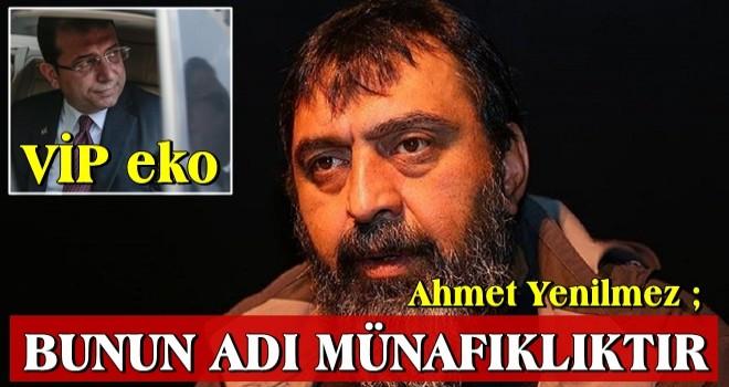 VIP'ci İmamoğlu'na 'devlet dersi': Ekrem'in devlet imanında sakatlık var, bunun adı münafıklıktır