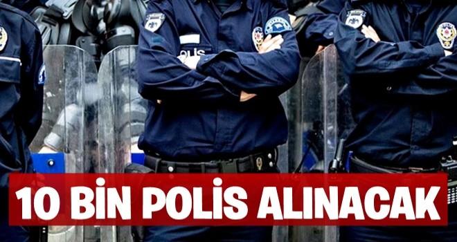 Soylu: Eylül'de 10 bin polis alacağız