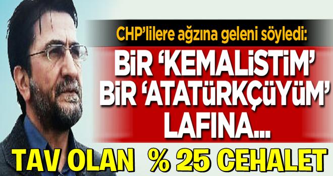 Nihat Genç CHP'lilere açtı ağzını yumdu gözünü
